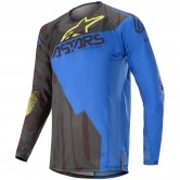 ALPINESTARS Techstar 2020 Factory Black / Dark Blue / Yellow Fluo