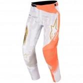 ALPINESTARS Techstar 2020 Factory Metal White / Orange Fluo / Gold