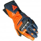 DAINESE Carbon 3 Long Black-Iris / Flame-Orange / Fluo-Red