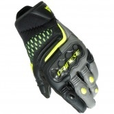 DAINESE Carbon 3 Short Black / Charcoal-Gray / Fluo-Yellow