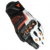 DAINESE Carbon 3 Short Black / White / Flame-Orange