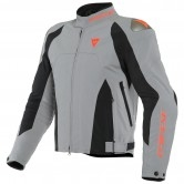 DAINESE Indomita D-Dry XT Frost-Gray / Black-Matt / Fluo-Red