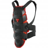 DAINESE Pro-Speed Back Long Black / Red