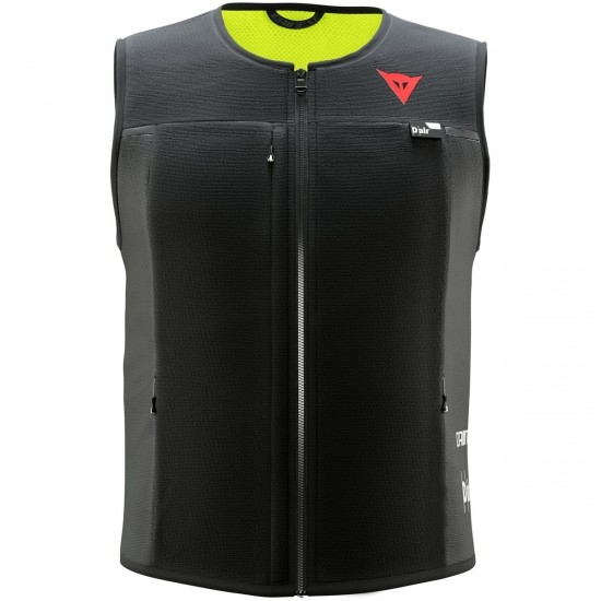 Proteccion DAINESE Smart Jacket Lady Black / Yellow Fluo