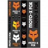 FOX Heritage Track Pack Black / White / Orange