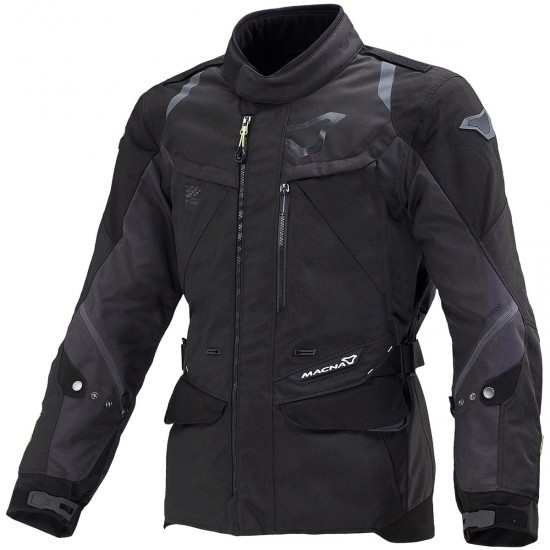 Blouson MACNA Equator Black / Dark Grey