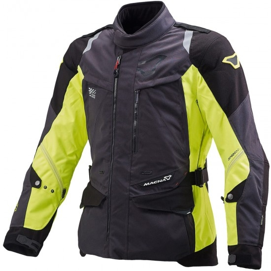 MACNA Equator Black / Neon Yellow Jacket