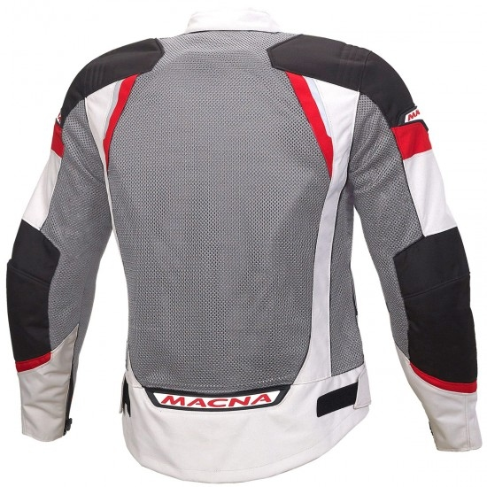 Giacca MACNA Event Black / Grey / Red