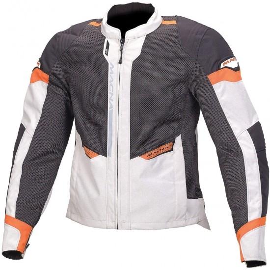 Chaqueta MACNA Event Light Grey / Black / Orange