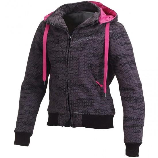 MACNA Freeride Lady Camo Black / Grey / Pink Jacket