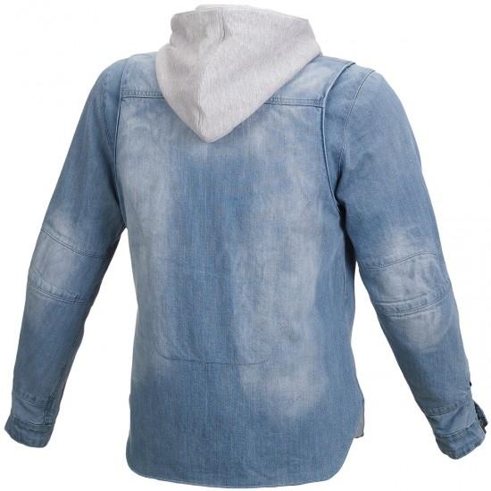 Jacke MACNA Westcoast Light Blue / Grey