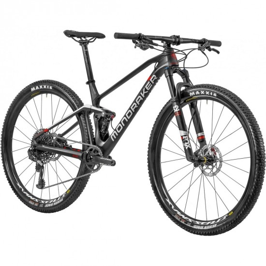 "MONDRAKER F-Podium Carbon 29"" 2020 Carbon / White / Red Mountainbike"
