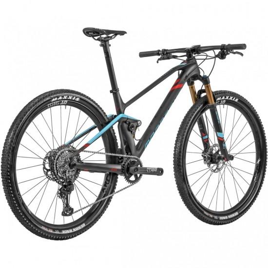 "Mountainbike MONDRAKER F-Podium RR Carbon 29"" 2020 Carbon / Blue / Red"