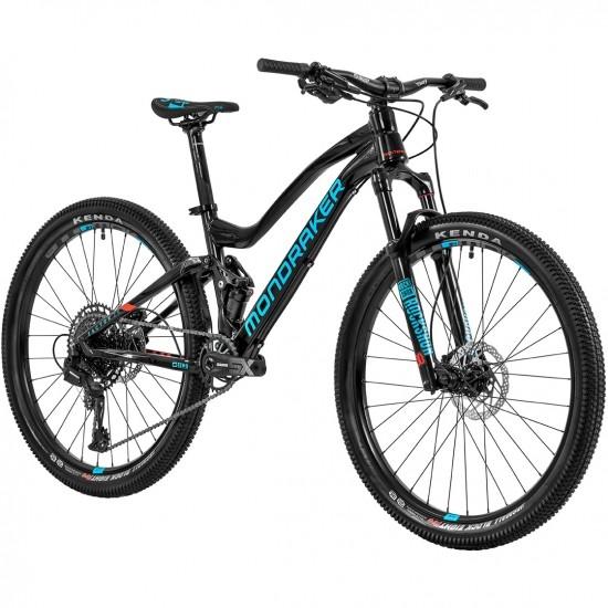 "Bici da montagna MONDRAKER Factor 26"" 2020 Black / Blue Sky / Flame Red"