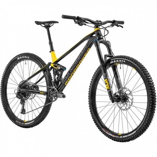 """Bicicleta de montaña MONDRAKER Foxy 29"""" 2020 Black / Yellow / Grey Nimbus"""