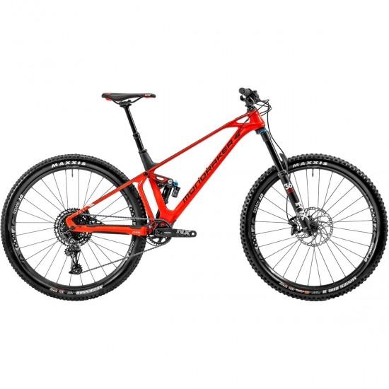 """Bicicleta de montaña MONDRAKER Foxy Carbon R 29"""" 2020 Flame Red / Carbon / White"""