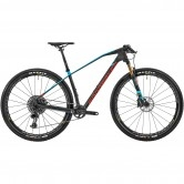 "MONDRAKER Podium Carbon RR 29"" 2020 Carbon / Blue Sky / Flame Red"