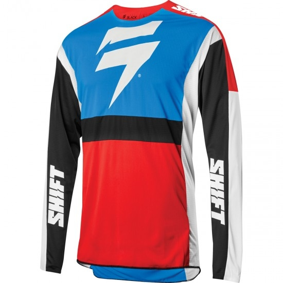 Camiseta SHIFT Black Label Race 2 2020 Blue / Red