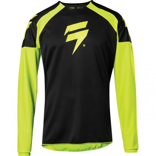 Camiseta SHIFT White Label Race 1 2020 Flo Yellow