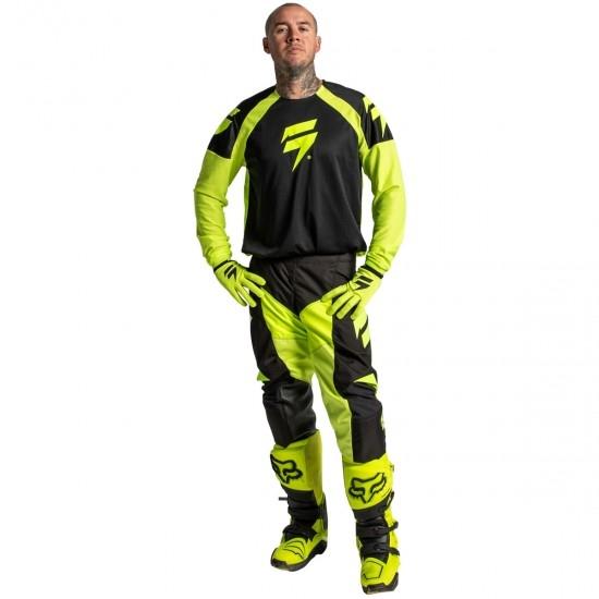 White Label Race 1 2020 Flo Yellow