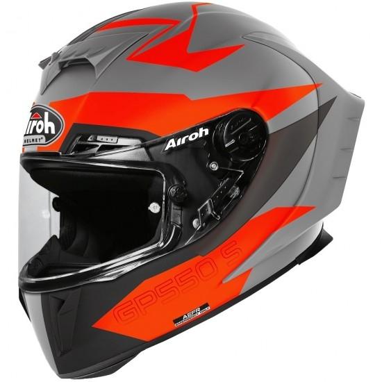 Casco AIROH GP 550 S Vektor Orange Matt