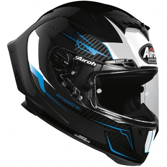 AIROH GP 550 S Venom Black Gloss Helmet