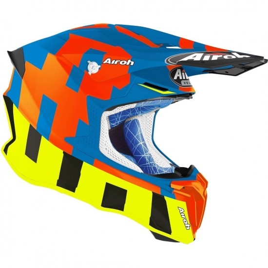 AIROH Twist 2.0 Frame Azure Matt Helmet
