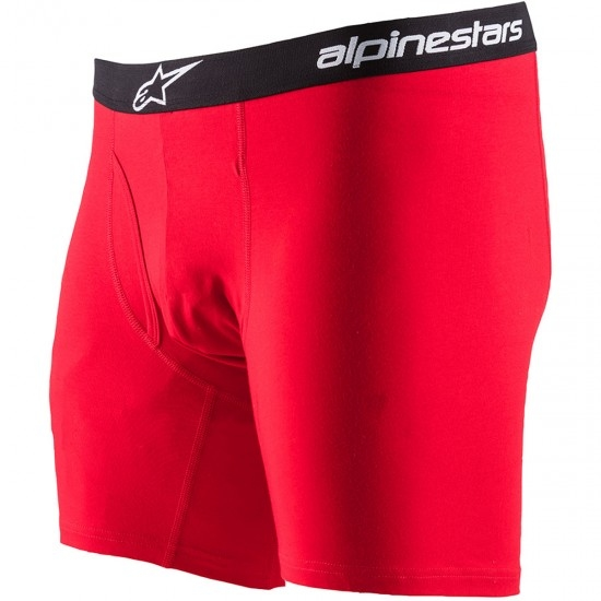 ALPINESTARS Cotton Brief Red Complement