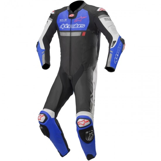 Anzug / Kombi ALPINESTARS Missile Ignition Professional for Tech-Air Black / Electric Blue / White