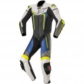 ALPINESTARS Motegi V3 Professional Black / White / Metallic Grey / Blue