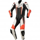 ALPINESTARS Motegi V3 Professional Black / White / Red Fluo