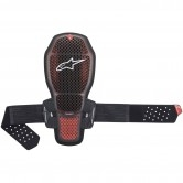 ALPINESTARS Nucleon KR-R Cell Transparent Smoke / Red / Black