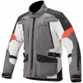 ALPINESTARS Valparaiso V3 Drystar Dark Gray / Light Gray / Red