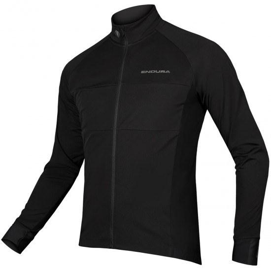 ENDURA FS260-Pro Jetstream L/S II Black Jersey