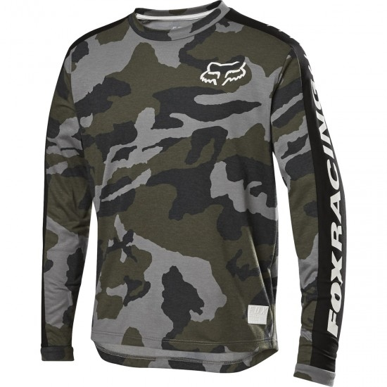 Maillot FOX Ranger Drirelease Junior Green Camo