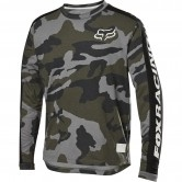 FOX Ranger Drirelease Junior Green Camo