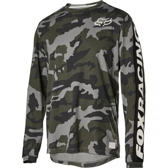 Maillot FOX Ranger Drirelease® LS Green Camo