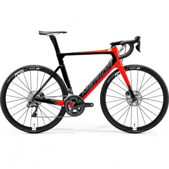 Bicicleta de carretera MERIDA Reacto Disc 7000 E Carbon 2020 Black / Red