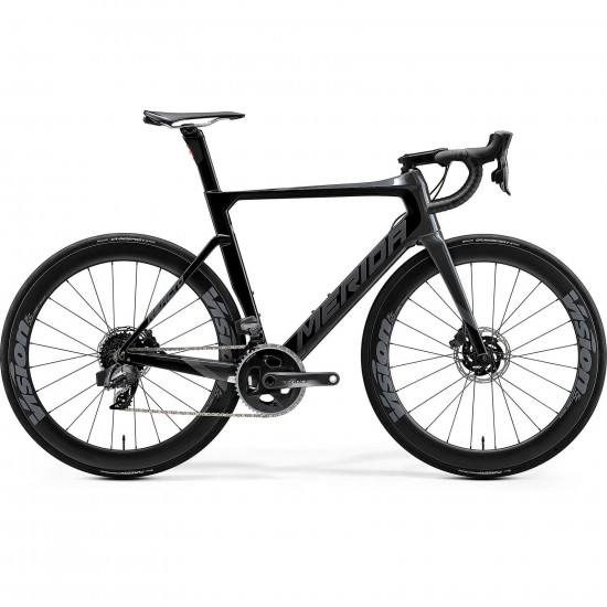 Bicicleta de carretera MERIDA Reacto Disc Force Edition 2020 Black