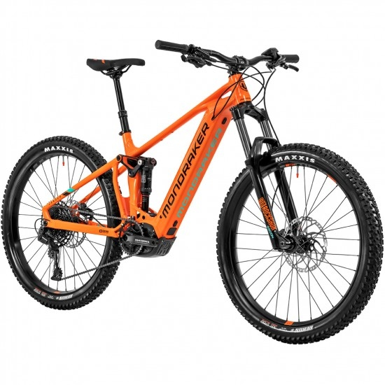 "Bici da montagna MONDRAKER Chaser + 27,5"" 2020 Orange Fox / Black / Green"