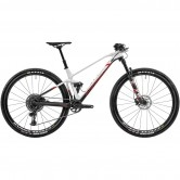 "MONDRAKER F-Podium DC R Carbon 29"" 2020 Carbon / White / Flame Red"