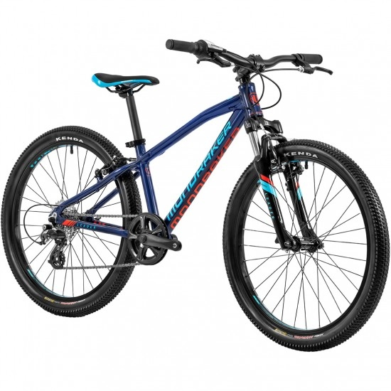 "Bicicleta de montaña MONDRAKER Leader 24"" 2020 Dark Blue / Sky Blue / Flame Red"