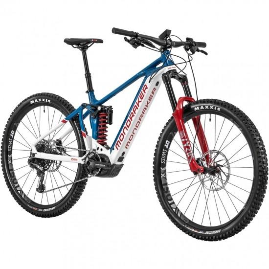 "Bicicleta de montaña MONDRAKER Level RR 2020 29"" White / Petrol Blue / Boxxer Red"