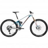 "MONDRAKER SuperFoxy Carbon R 29"" 2020 White / Petrol Blue / Fox Orange"