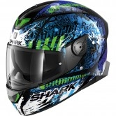 SHARK Skwal 2.2 Replica Switch Riders 2 Black / Blue / Green
