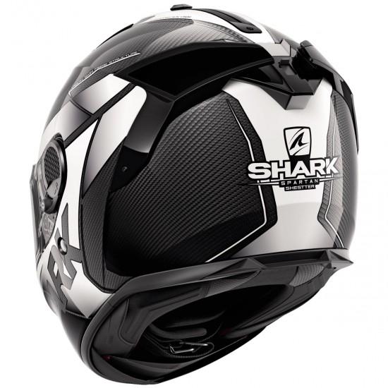 Casco SHARK Spartan GT Carbon Shestter Carbon / White / White