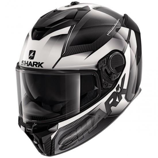Helm SHARK Spartan GT Carbon Shestter Carbon / White / White