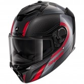 SHARK Spartan GT Carbon Tracker Carbon / Anthracite / Red