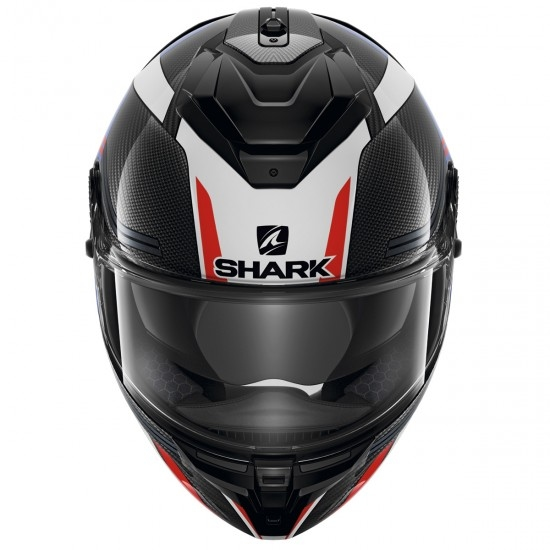 Helm SHARK Spartan GT Carbon Tracker Carbon / Blue / Red