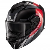 Spartan GT Tracker Black / Red / Silver